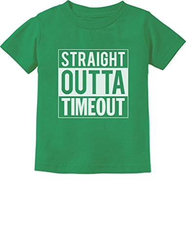 Straight Outta Timeout Funny Toddler//Infant Kids T-Shirt 4T Lavender TeeStars